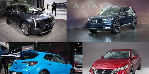 Land vehicle, Vehicle, Car, Automotive design, Mid-size car, Auto show, Sport utility vehicle, Compact sport utility vehicle, Grille, Compact car,