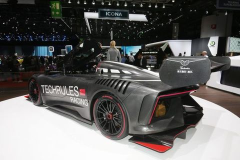 Techrules Ren Rs Turbine Hybrid Supercar