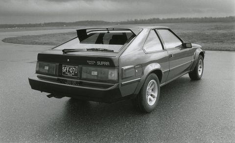 1983 Toyota Supra rear