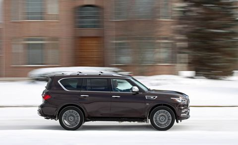Land vehicle, Vehicle, Car, Motor vehicle, Automotive design, Sport utility vehicle, Snow, Luxury vehicle, Compact sport utility vehicle, Rim,