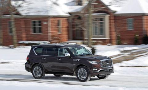 Land vehicle, Vehicle, Car, Automotive design, Motor vehicle, Snow, Automotive tire, Sport utility vehicle, Rim, Tire,