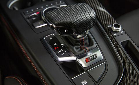 Gear shift, Vehicle, Car, Center console, Personal luxury car, Luxury vehicle, Mid-size car, Audi, Executive car,
