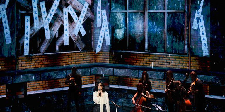 【金馬56】雷光夏美聲演唱《返校》主題曲!一句「請平凡而自由地生活吧!」引爆淚腺