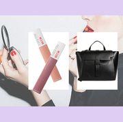 Handbag, Bag, Pink, Product, Shoulder, Fashion, Fashion accessory, Tote bag, Material property, Birkin bag,