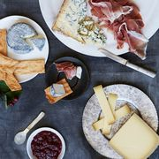 Food, Cuisine, Dish, Ingredient, Cheese, Brunch, Prosciutto, Brie, Breakfast, Meal,