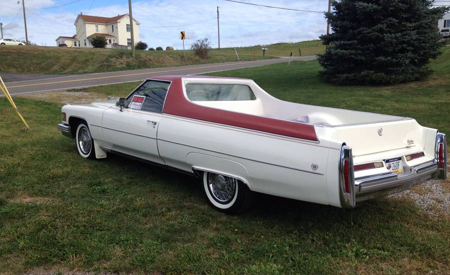 The Spirit of '76: Cadillac Caribou Pickup for Sale