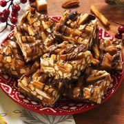 loaded peanut butter pretzel sticks for rold gold