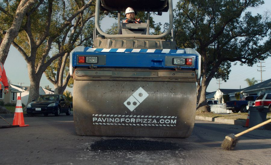 "Domino's Tackles Crumbling Infrastructure by ""Paving for Pizza"""