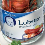 A Baby Story: Lobster in a Jar