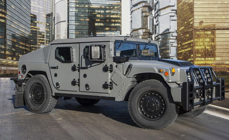 Ten-Hut! There's a New Humvee!