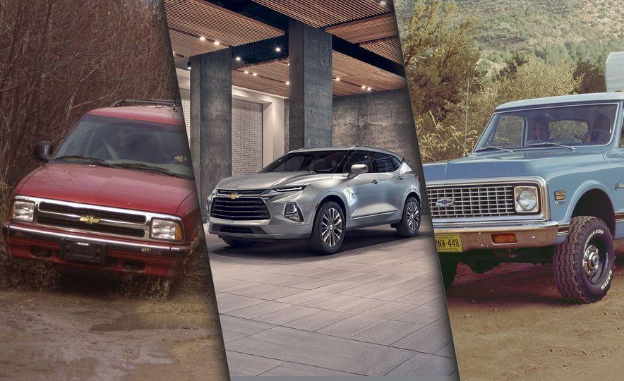 Blazing Saddle: A Visual History of the Chevrolet Blazer - Slide 1