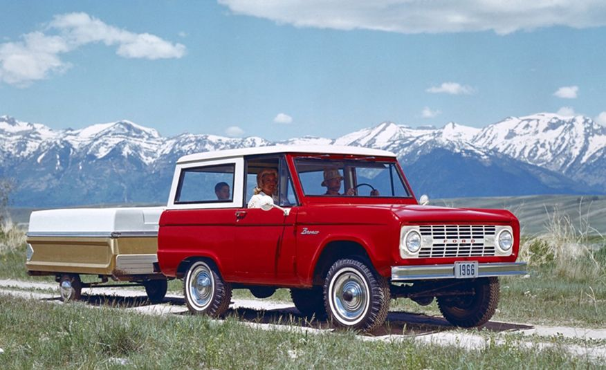 A Visual History of the Ford Bronco, from Trail Crawling to Slow-Speed Chases - Slide 1