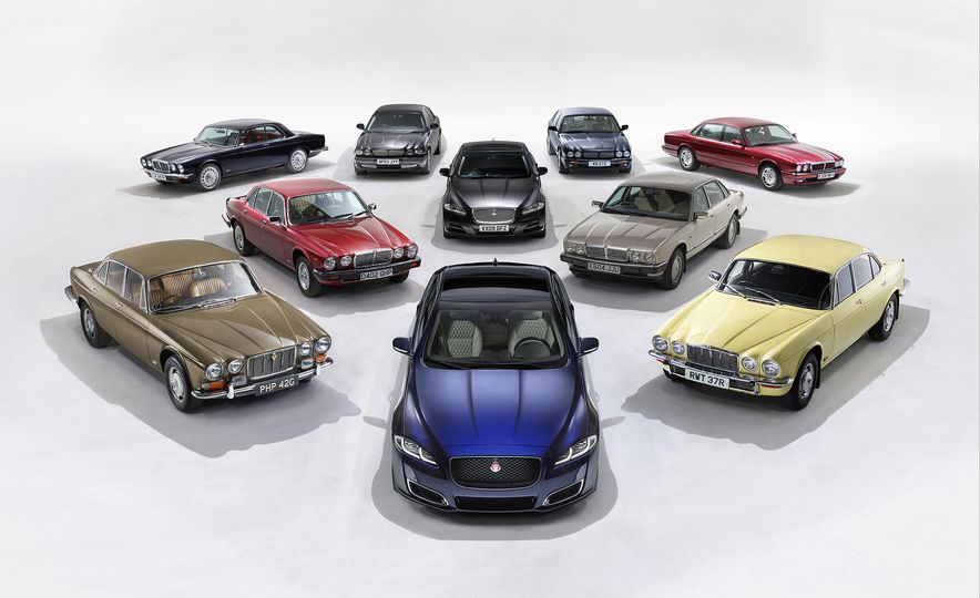 A Visual History of the Jaguar XJ's 50 Years of Elegance - Slide 1