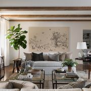 Living room, Room, Interior design, Furniture, Property, Wall, Ceiling, Table, Building, Home,