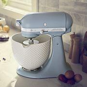 Mixer, Small appliance, Kitchen appliance, Food processor, Home appliance, Ice cream maker,