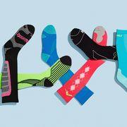 Sock, Font, Footwear, Fashion accessory, Finger,
