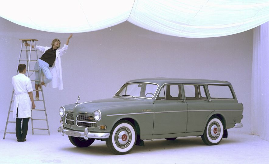 Inappropriately Captioned Vintage Volvo Promotional Photography - Slide 12