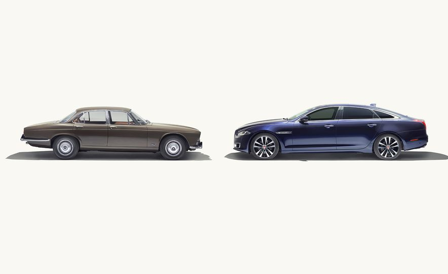 A Visual History of the Jaguar XJ's 50 Years of Elegance - Slide 13