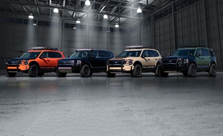 The Kia Telluride Gets Tarted Up for Off-Road Duty at SEMA
