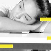 Yellow, Font, Black-and-white,