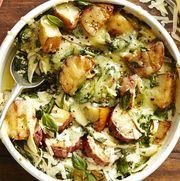 spinach and gruyère potato casserole