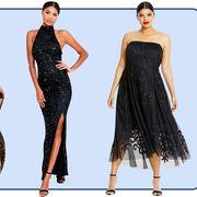 black prom dresses 2019