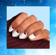 Nail, Nail polish, Manicure, Finger, Nail care, Skin, Cosmetics, Hand, Material property, Service,