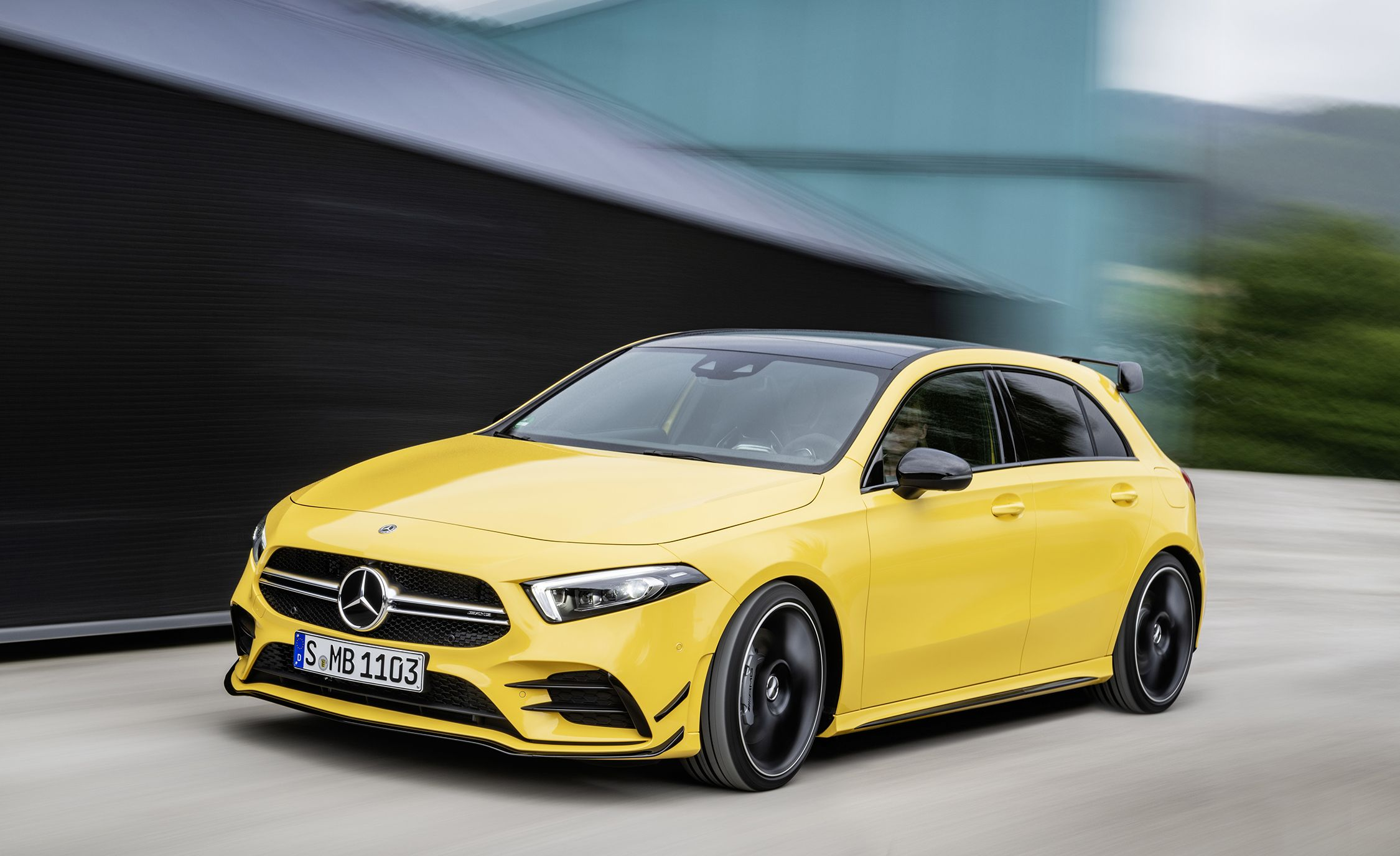 The 302-HP Mercedes-AMG A35 Is Benz's New Medium-Hot Hatchback