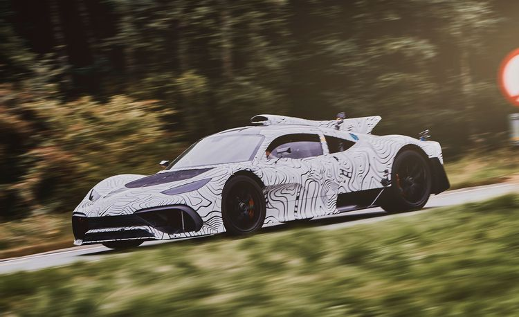 The Mercedes-AMG One Hypercar Shown Testing