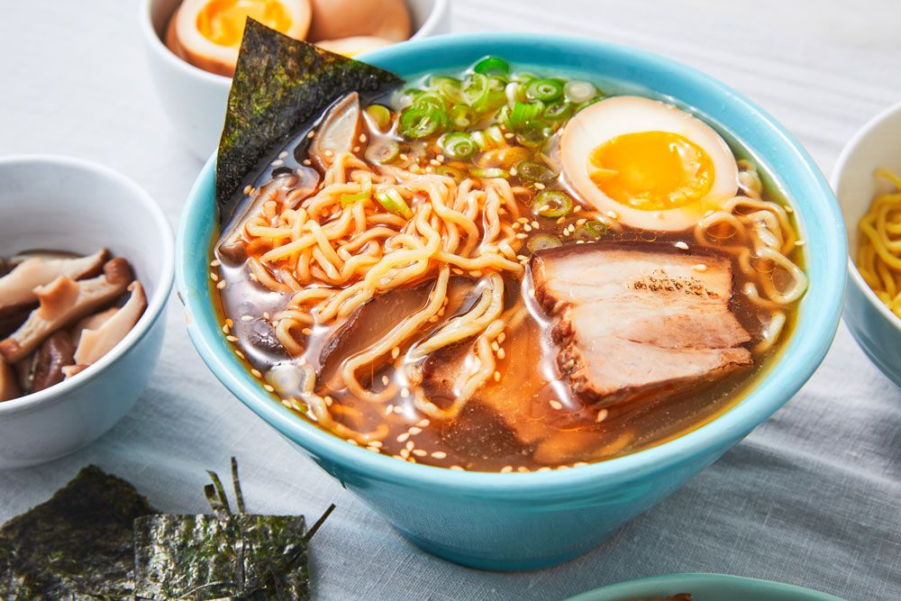 Best Ramen Recipe How To Make Homemade Shoyu Ramen