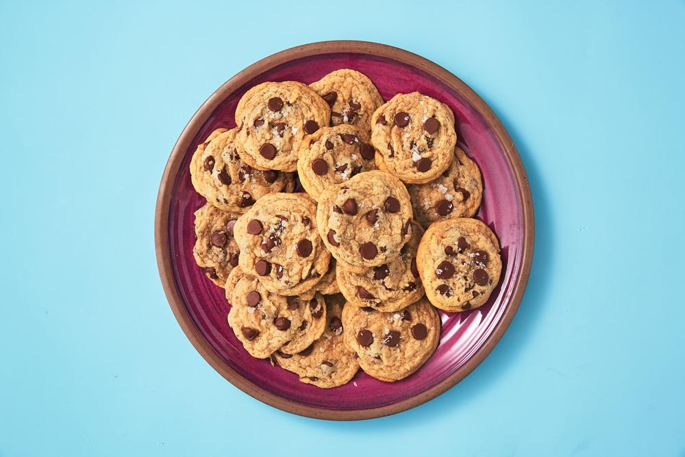 Soft & Fudgy Chocolate Chip Cookies