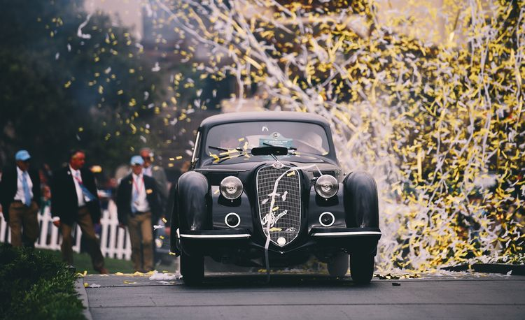 The Winner of the 2018 Pebble Beach Concours d'Elegance Best of Show Is . . .