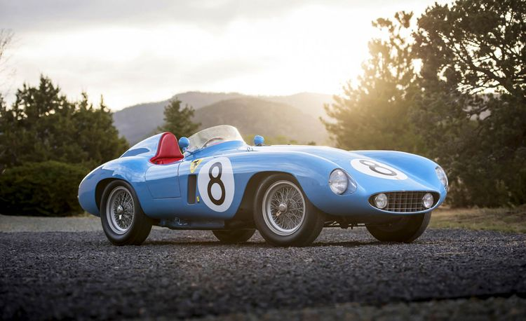 Navy Blue: The Admiral's Ferrari 500 Mondial Goes Up for Sale