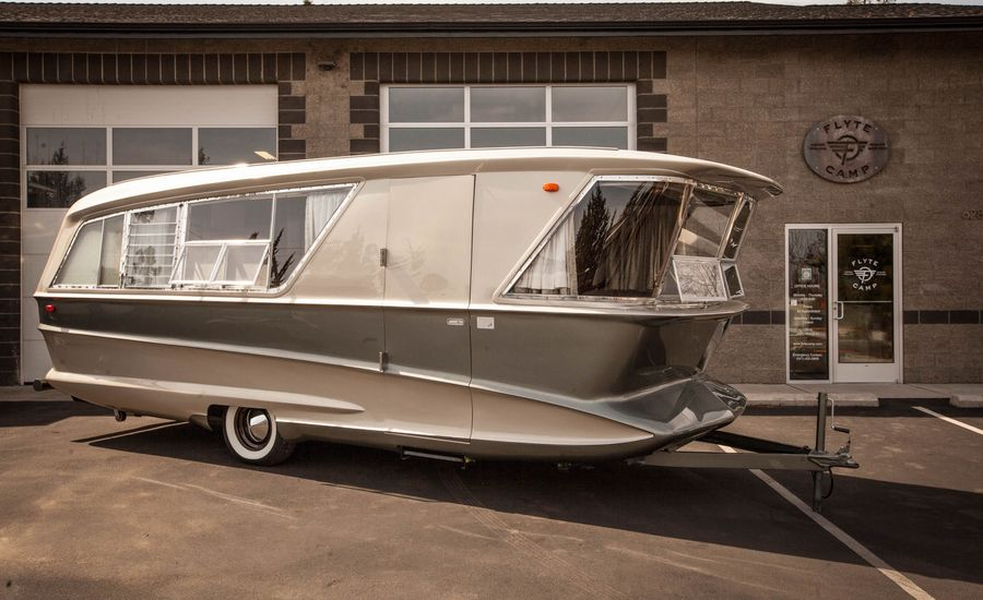 This Jet-Age Trailer Might Be the Coolest Camper Ever Made