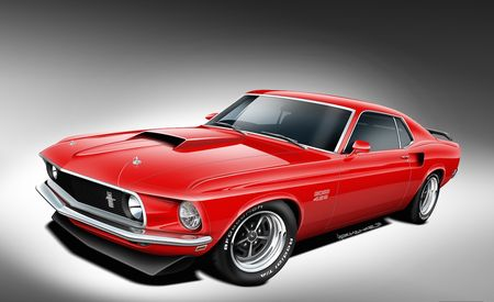 Ford Mustang Boss 429 by Classic Restorations Is Coming to SEMA
