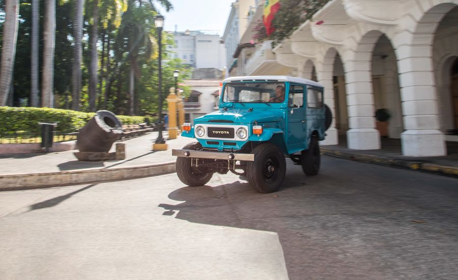 Restored 1982 Toyota Land Cruiser Imported from Colombia