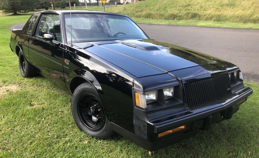 1987 Buick Grand National with One Owner and Low Miles Is up for Grabs