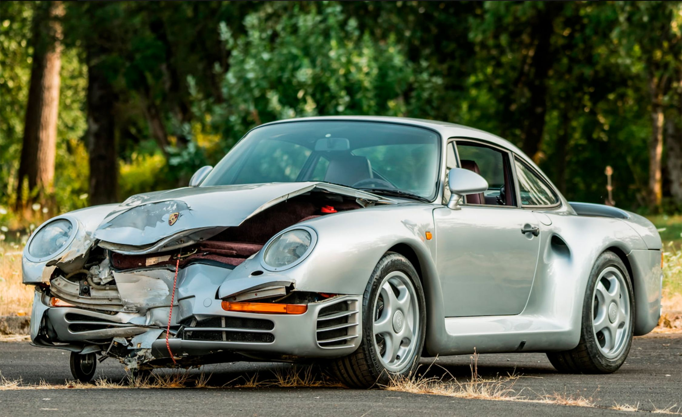 Want a Discounted Porsche 959? Buy This Wrecked One