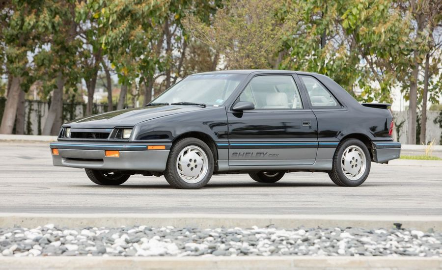 Personal Pentastars: Carroll Shelby's Own 1980s Dodges Up for Auction