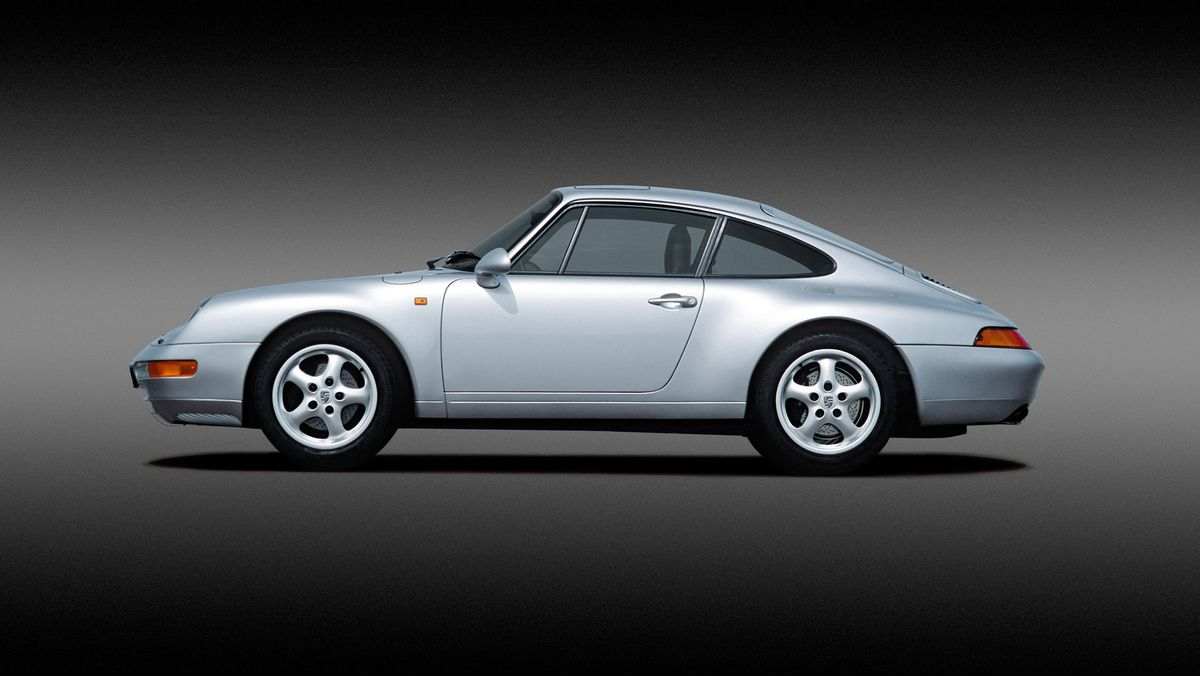 Pick your year: This one's a 1993 Porsche 911.