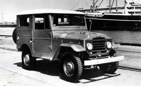 Cruisin' for a Bruisin': The Visual History of the Toyota Land Cruiser