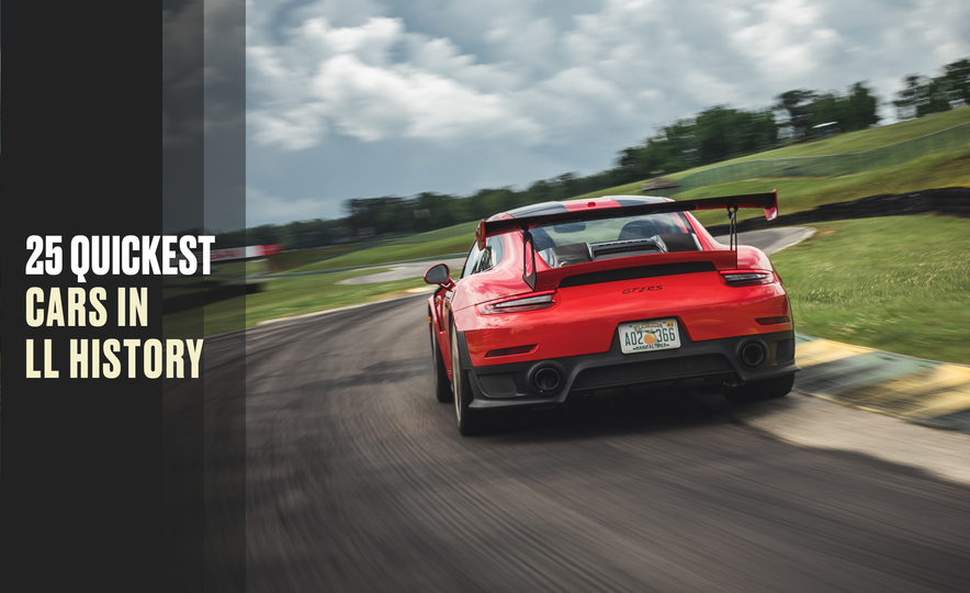 Bolts of Lightning: The 25 Quickest Cars in Lightning Lap History - Slide 1