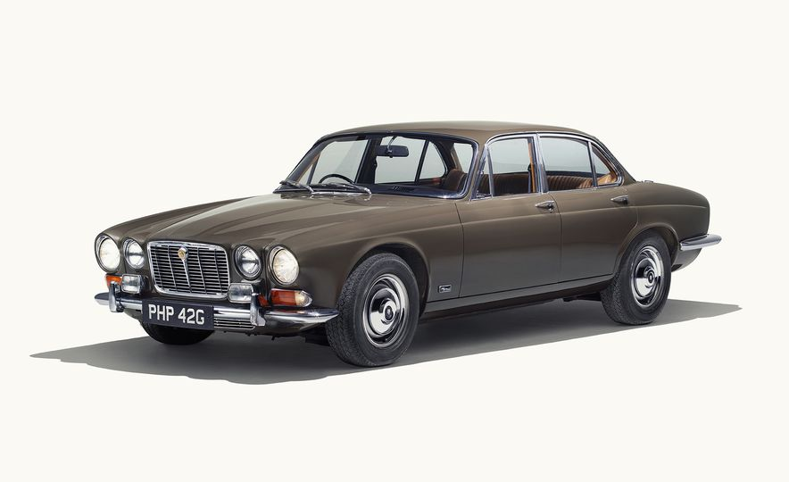 A Visual History of the Jaguar XJ's 50 Years of Elegance - Slide 2