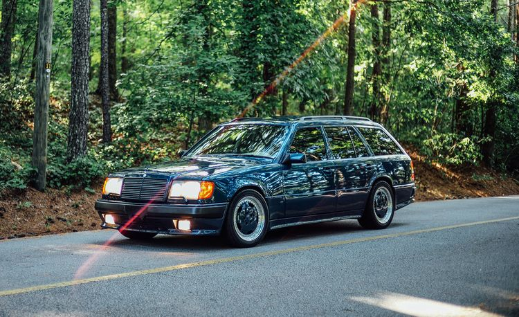 A Visual History of AMG-Modified Mercedes-Benz E-class Wagons
