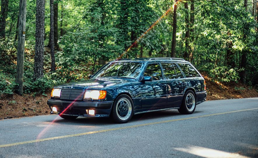 A Visual History of AMG-Modified Mercedes-Benz E-class Wagons - Slide 2