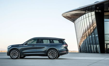 What Carries Over from the Lincoln Aviator SUV Concept to the Production Model? This Stuff