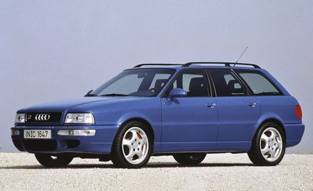 A Visual History of Audi's High-Performance RS Models