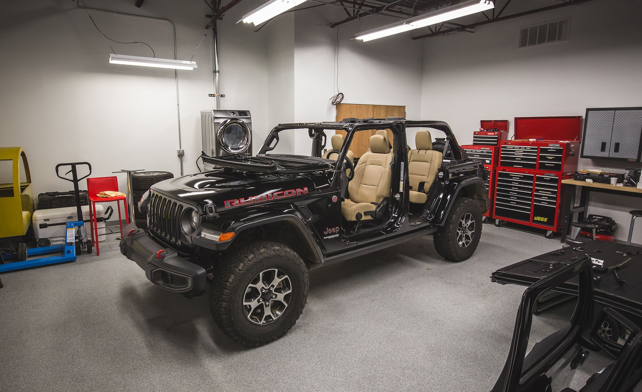 How To Remove The 2018 Jeep Wrangler Jls Roof Doors And Windshield Parts Book