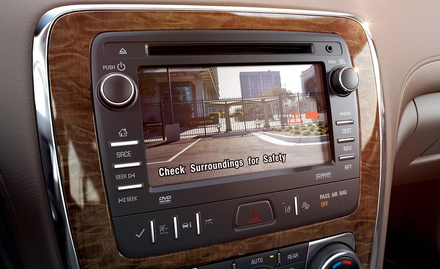 Backup Cameras Are Now on All New U.S.-Spec Vehicles