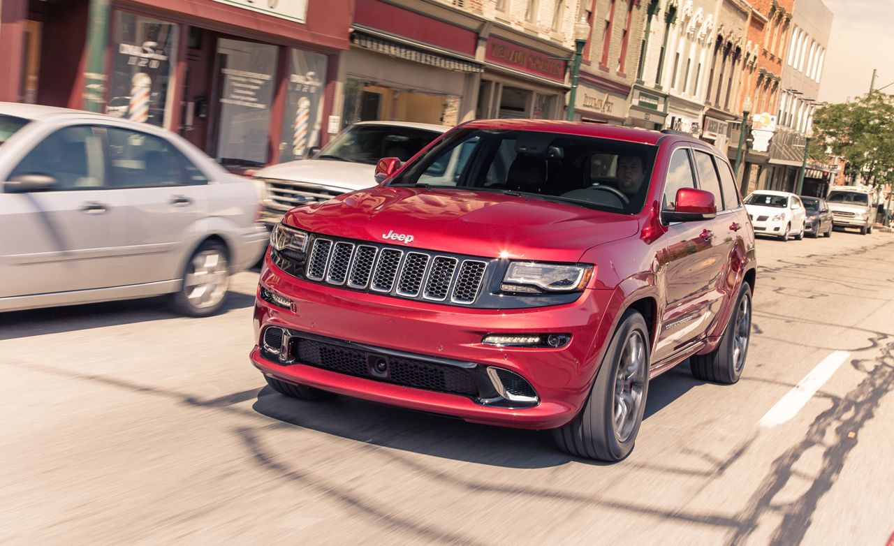2014 jeep grand cherokee srt test review car and driver. Black Bedroom Furniture Sets. Home Design Ideas